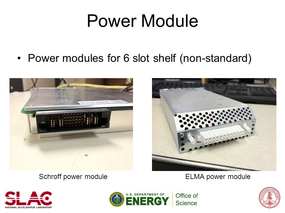 Power Module Power modules for 6 slot shelf (non-standard)