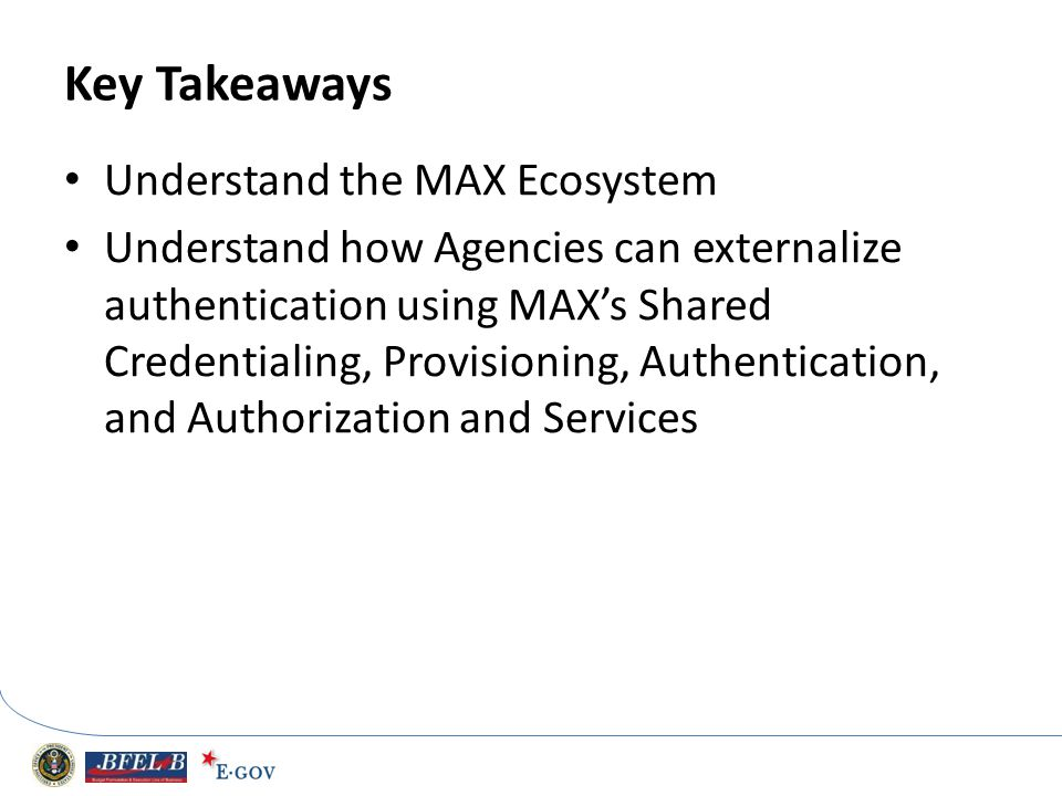 Key Takeaways Understand the MAX Ecosystem