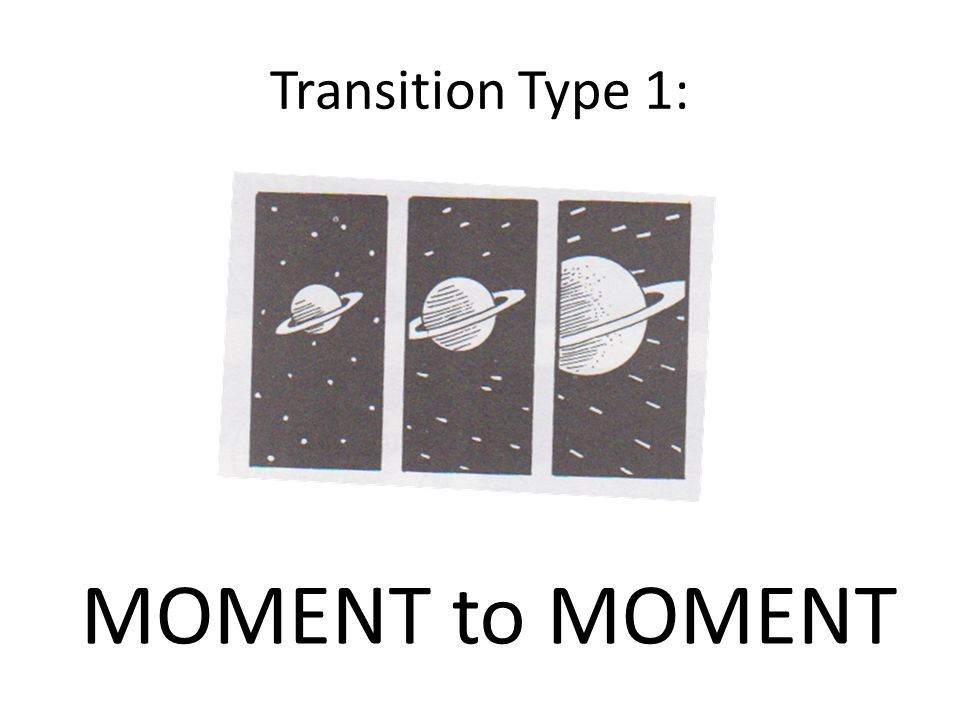Transition Type 1: MOMENT to MOMENT