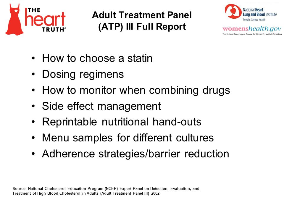Adult Treatment Panel (ATP) III Full Report