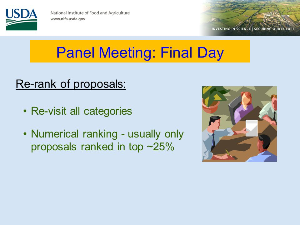 Panel Meeting: Final Day