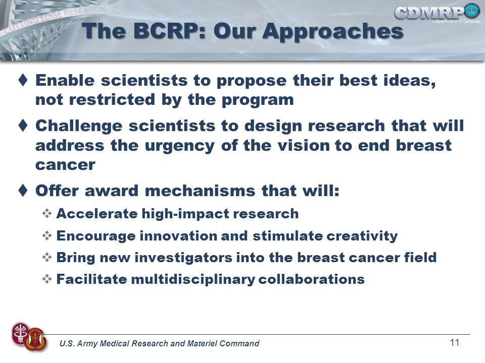The BCRP: Our Approaches