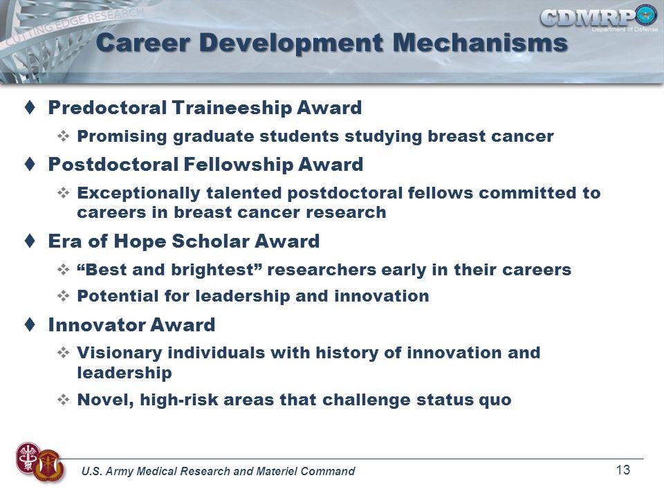 Career Development Mechanisms