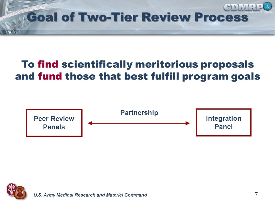 Goal of Two-Tier Review Process