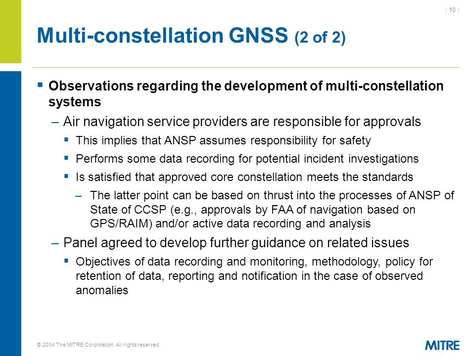 Multi-constellation GNSS (2 of 2)
