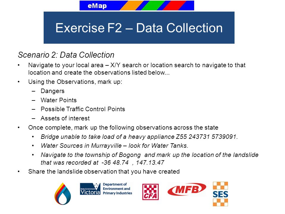 Exercise F2 – Data Collection