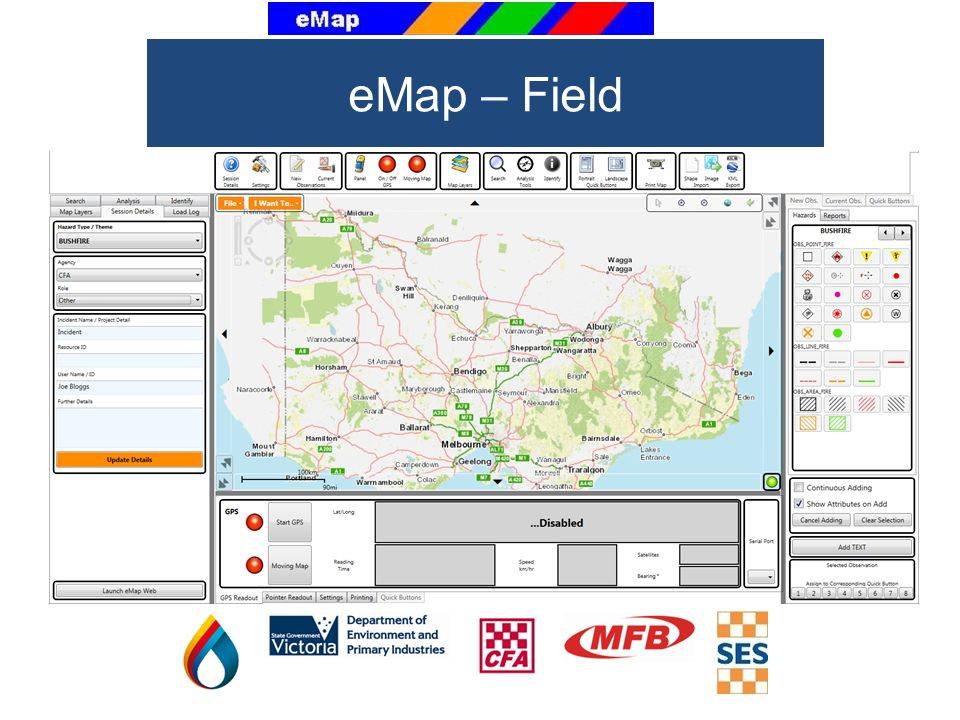 eMap – Field