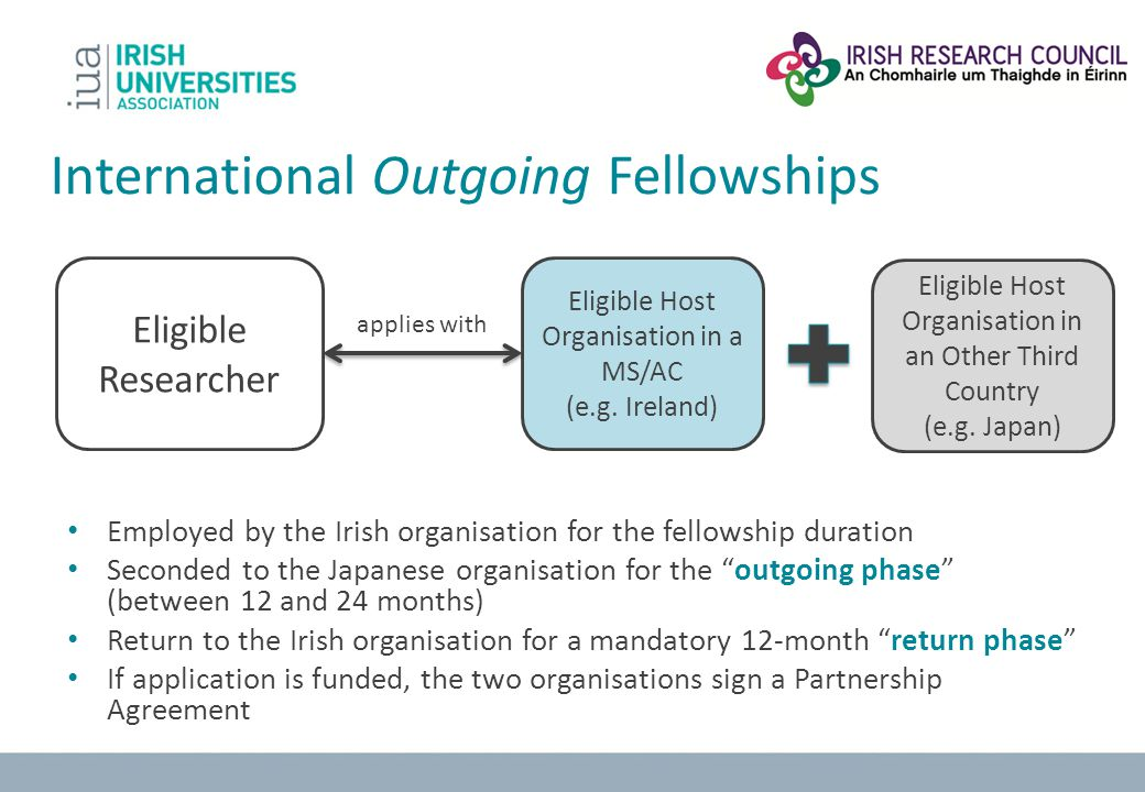 International Outgoing Fellowships