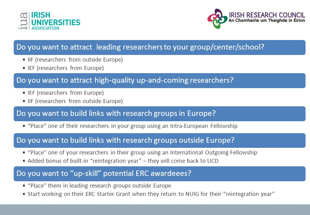 Do you want to attract high-quality up-and-coming researchers