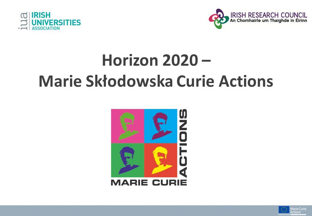 Horizon 2020 – Marie Skłodowska Curie Actions