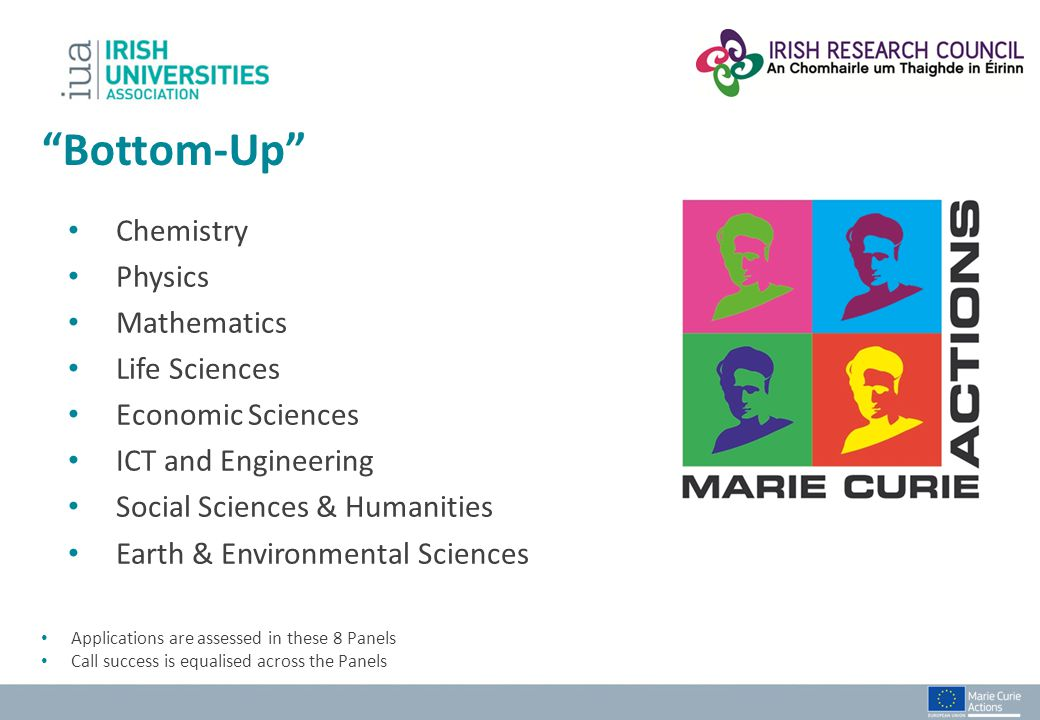 Bottom-Up Chemistry Physics Mathematics Life Sciences