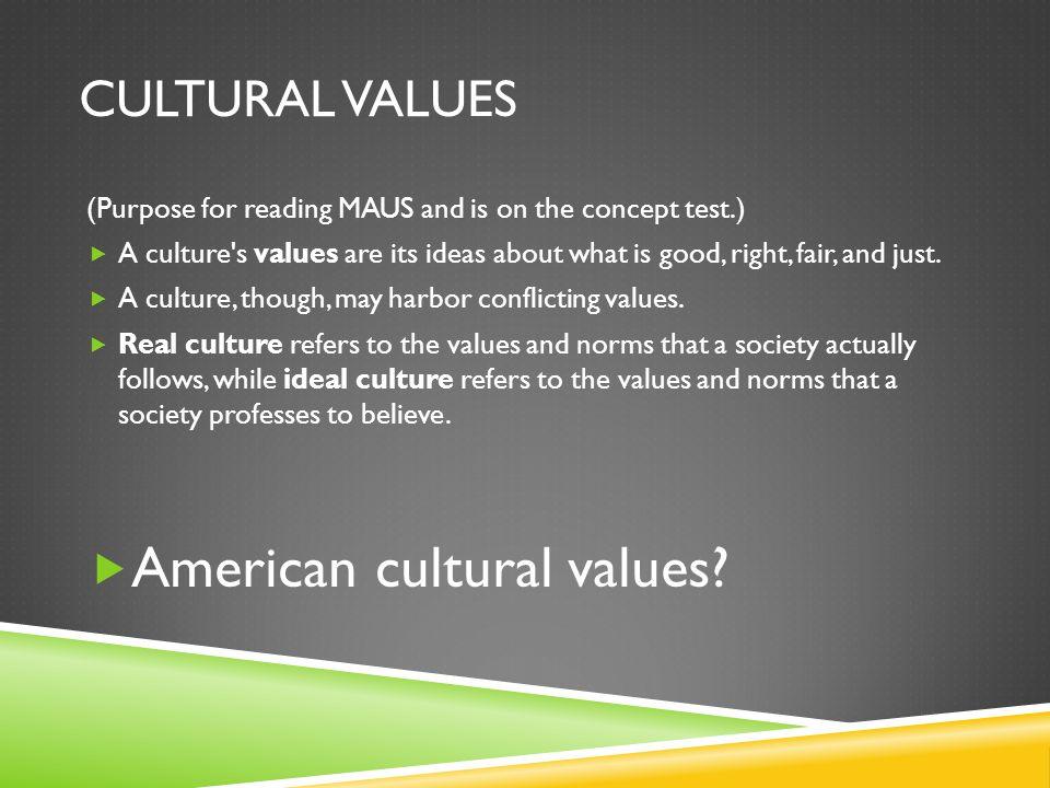American cultural values