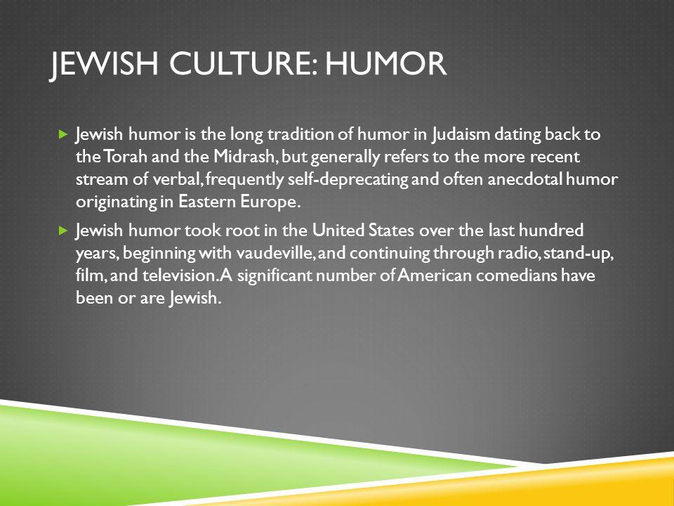 Jewish culture: Humor