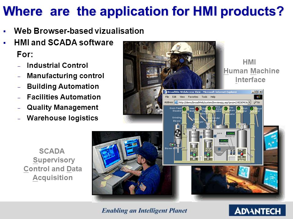 Where are the application for HMI products