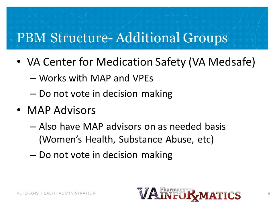MAP/ VPE Decision Making