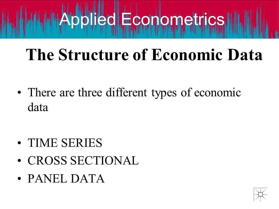 The Structure of Economic Data
