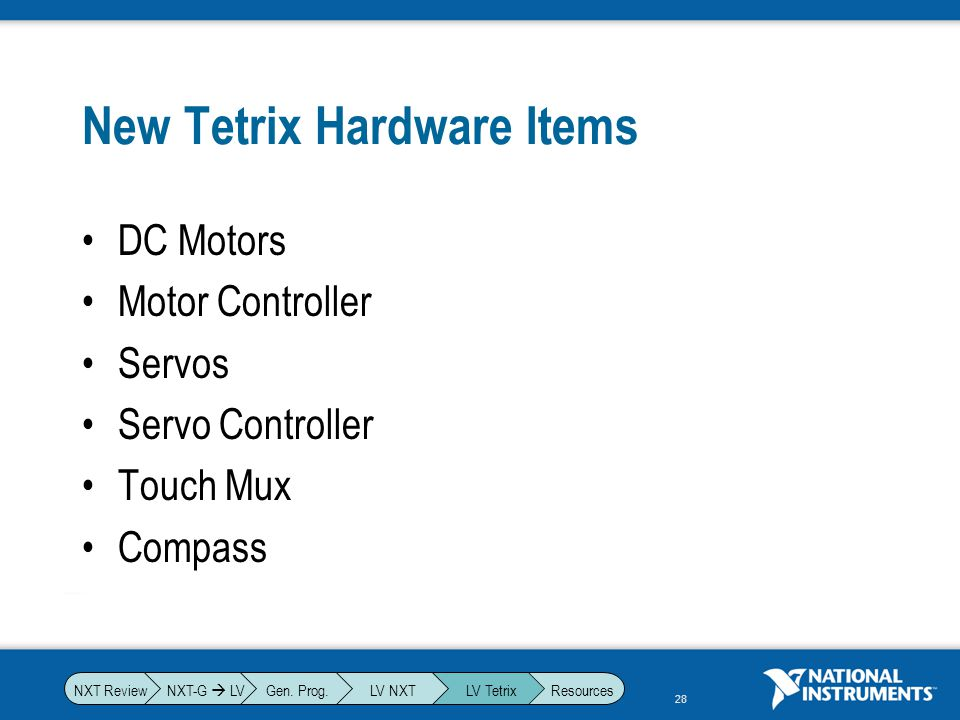 New Tetrix Hardware Items