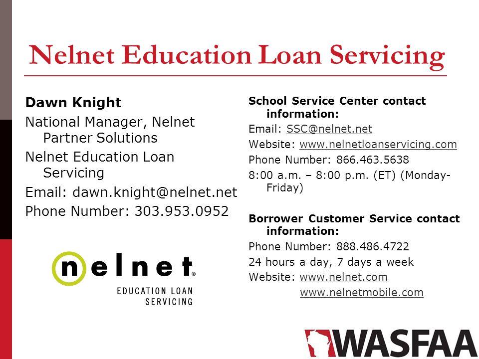 Nelnet Education Loan Servicing