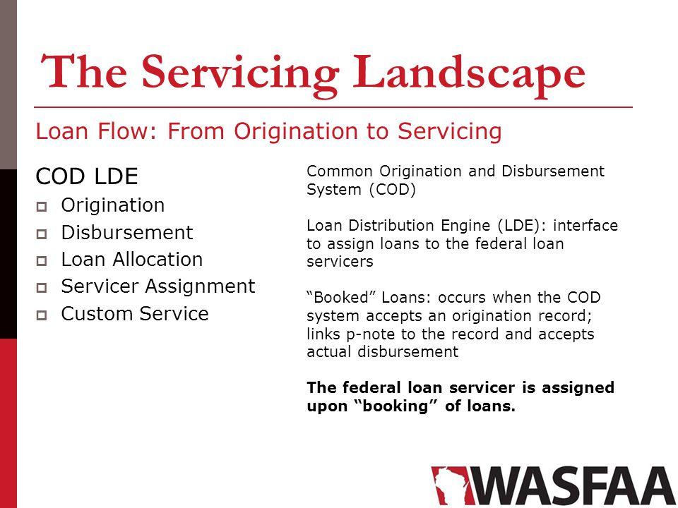 The Servicing Landscape