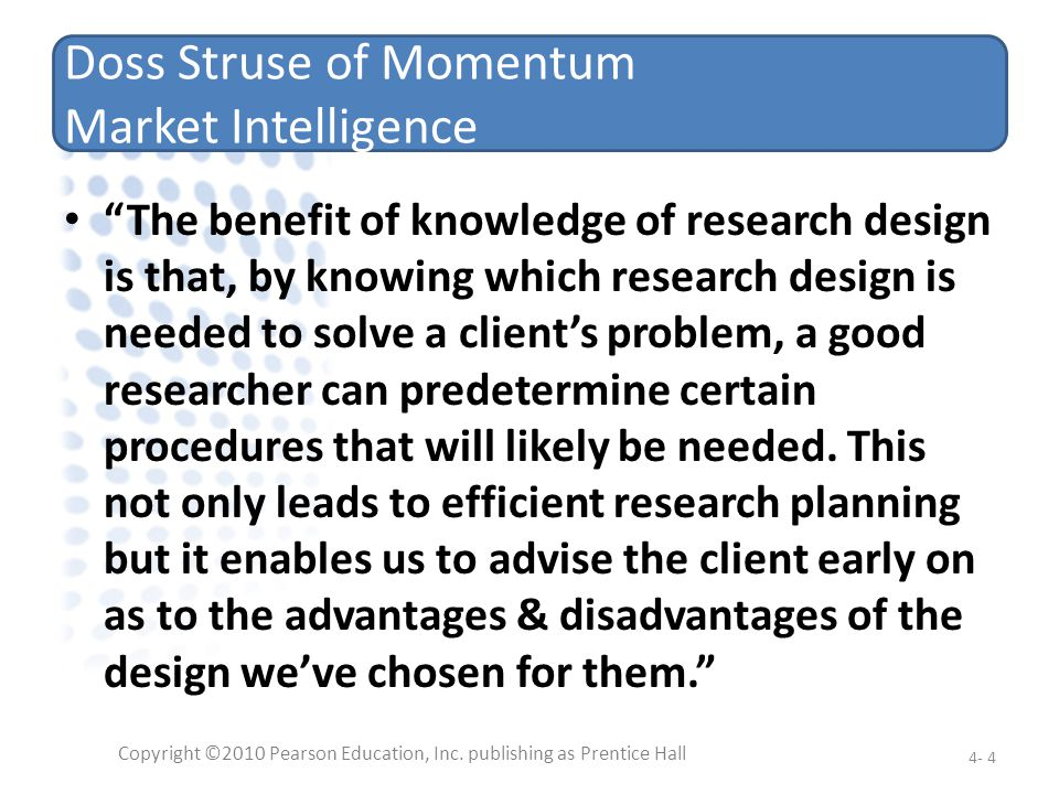 Doss Struse of Momentum Market Intelligence