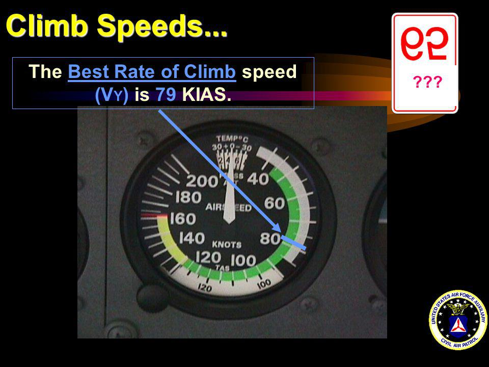 The Best Rate of Climb speed (VY) is 79 KIAS.