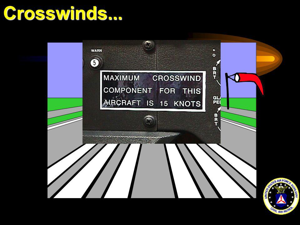 Crosswinds...