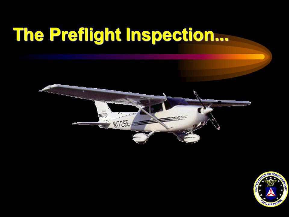 The Preflight Inspection...