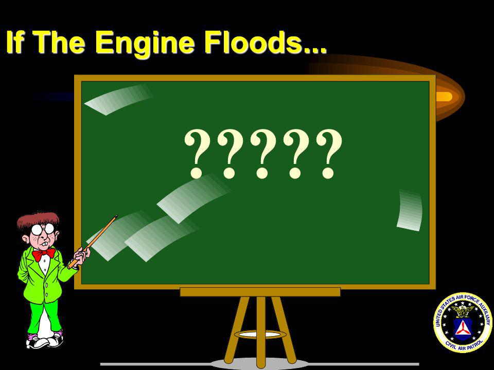 If The Engine Floods...