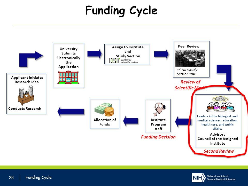 Funding Cycle Review of Scientific Merit Funding Decision