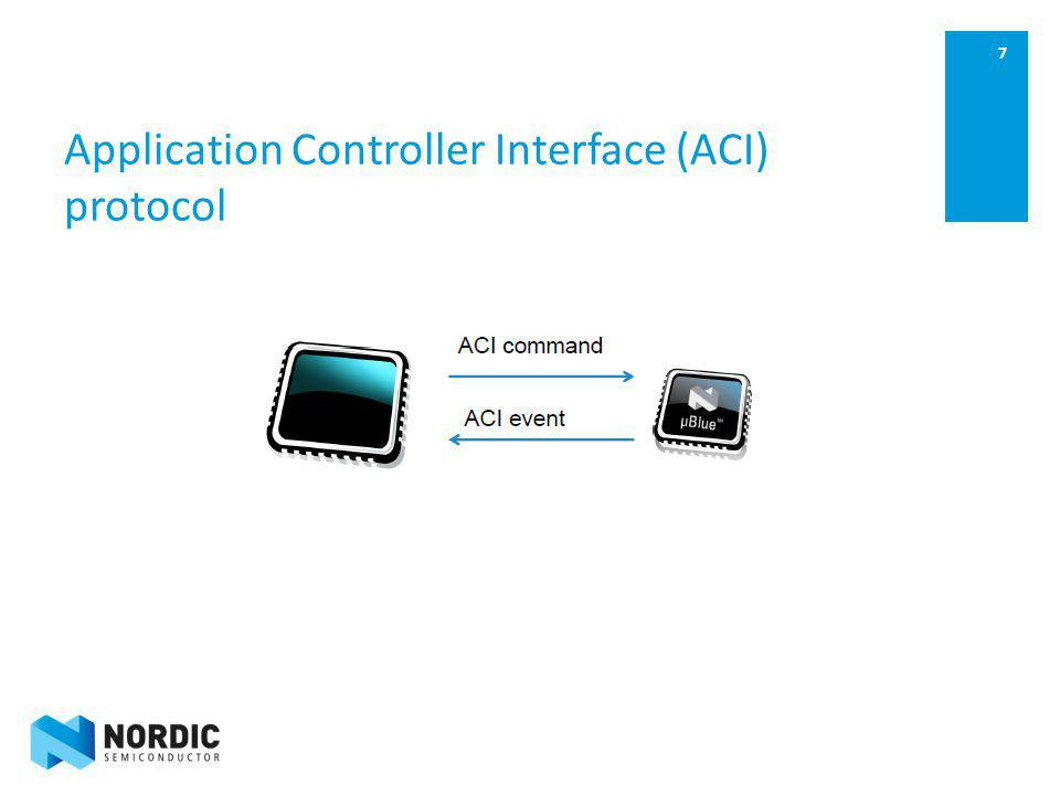 Application Controller Interface (ACI) protocol