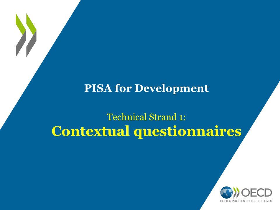Contextual questionnaires