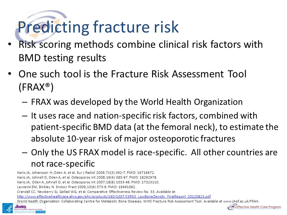 Predicting fracture risk
