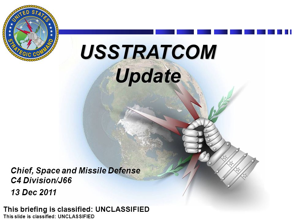 Chief, Space and Missile Defense C4 Division/J66 13 Dec 2011
