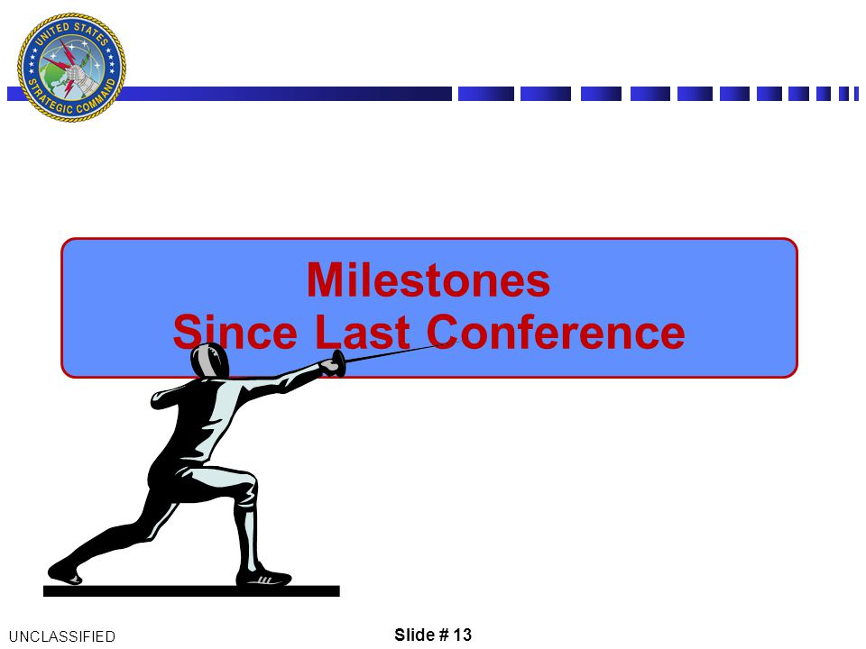 Milestones Since Last Conference