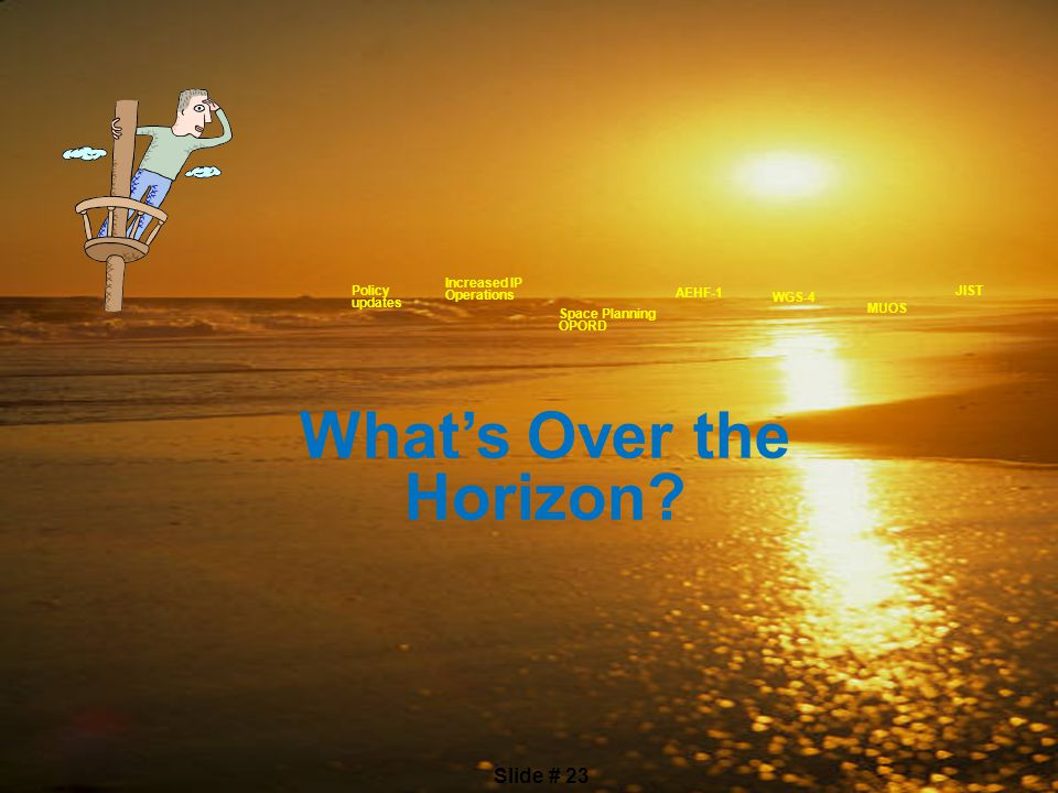 What's Over the Horizon