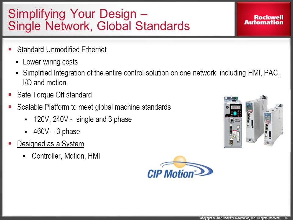 Simplifying Your Design – Single Network, Global Standards