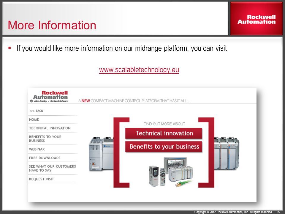 More Information If you would like more information on our midrange platform, you can visit.