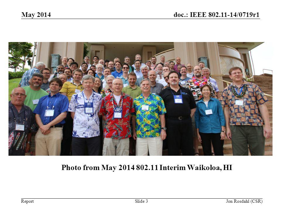 Photo from May 2014 802.11 Interim Waikoloa, HI