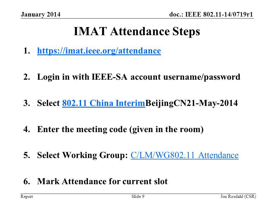 IMAT Attendance Steps https://imat.ieee.org/attendance