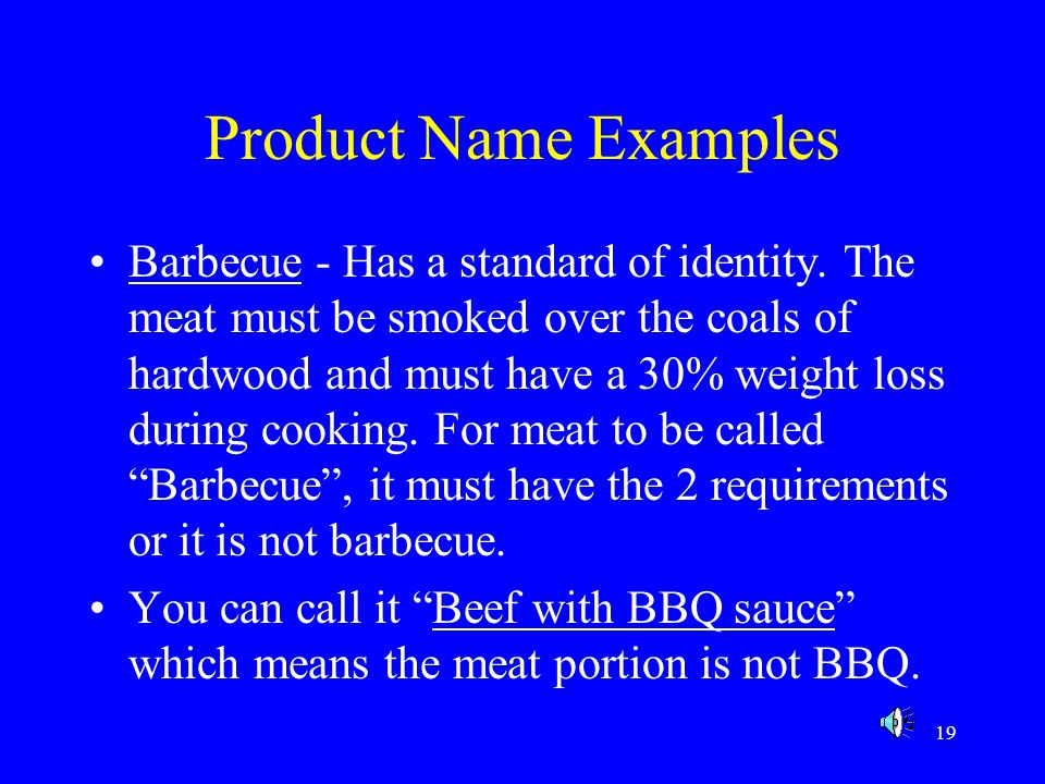 Product Name Examples