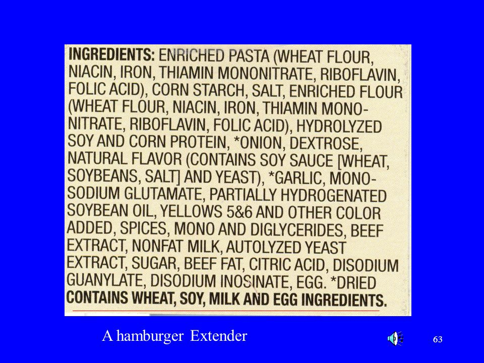 See bottom of ingredient statement Contains wheat, soy milk and egg ingredientsa.