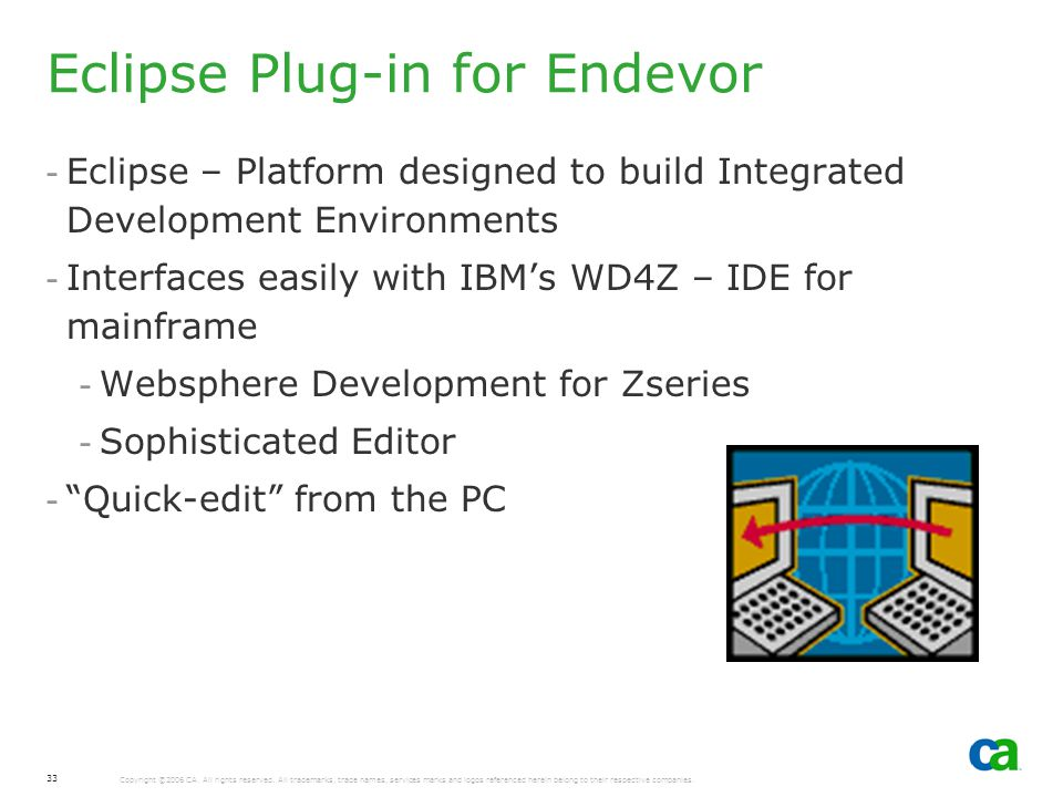 Eclipse Plug-in for Endevor