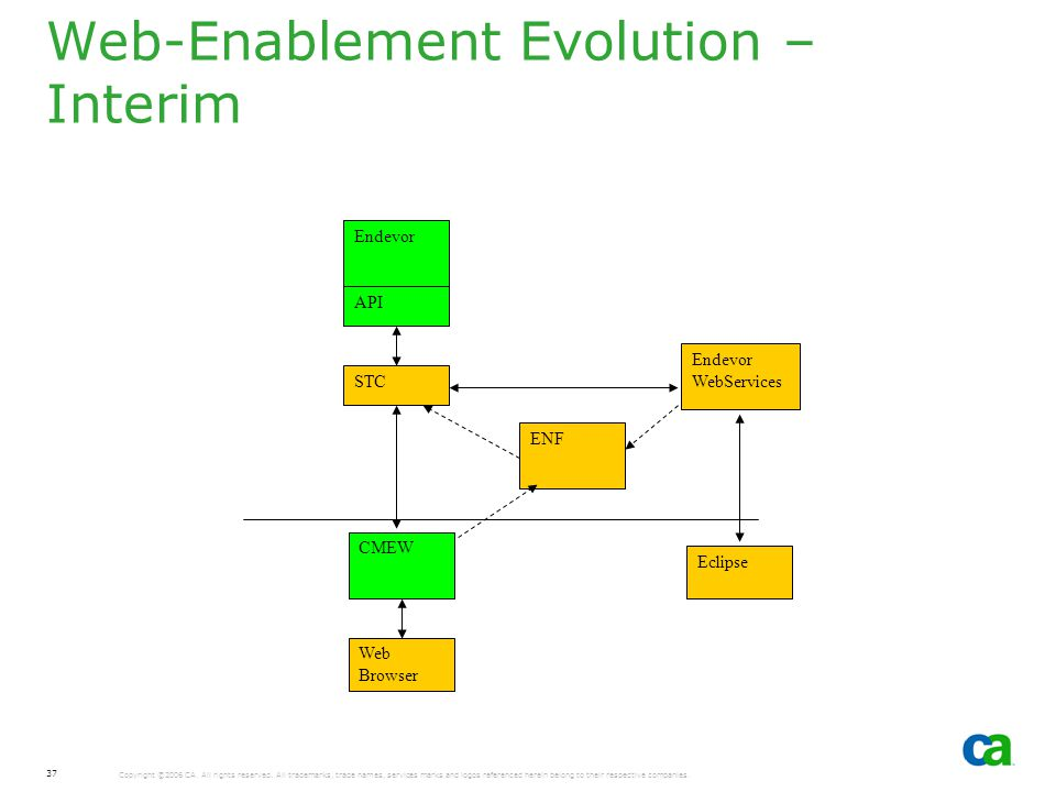 Web-Enablement Evolution – Interim