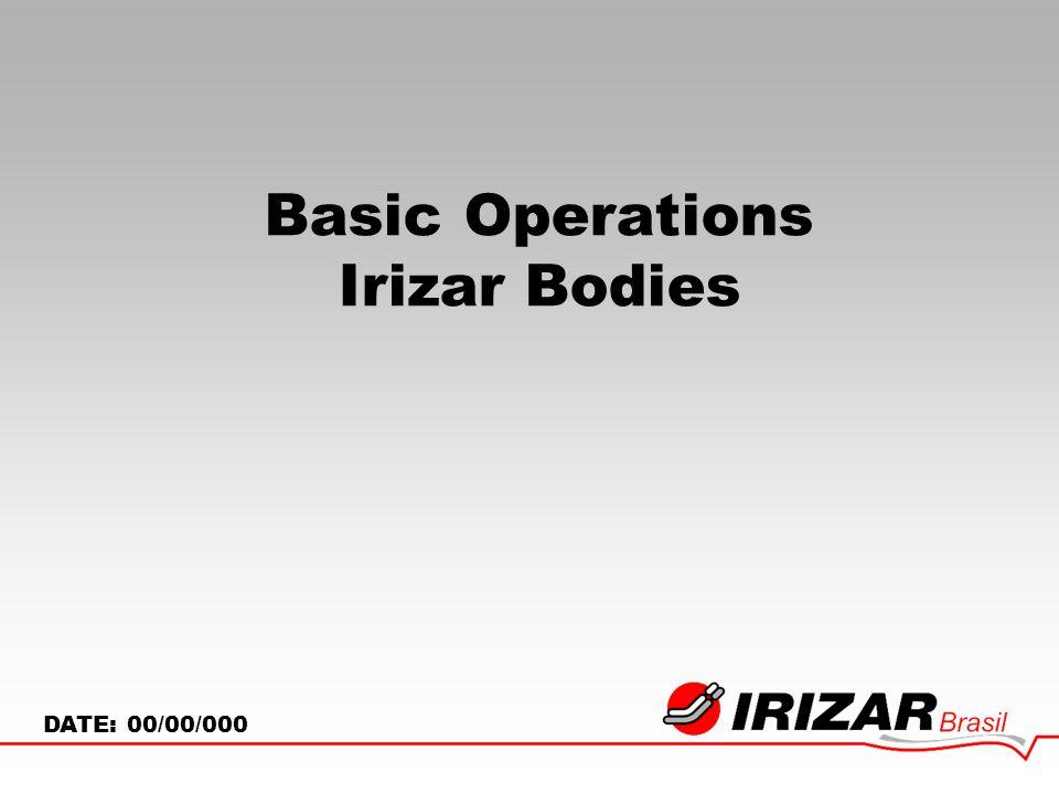 Basic Operations Irizar Bodies