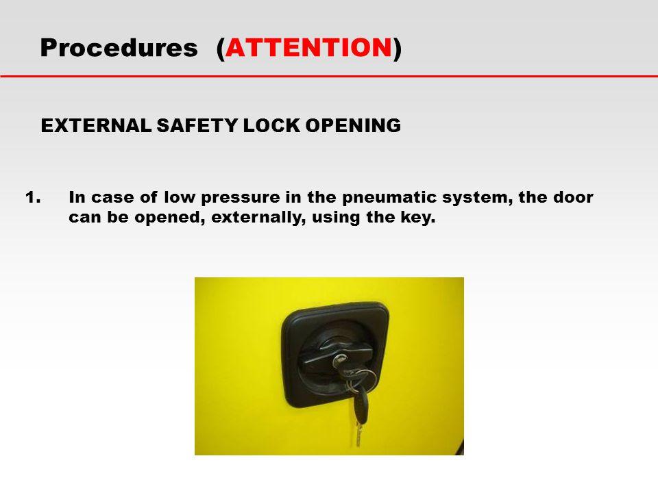 Procedures (ATTENTION)