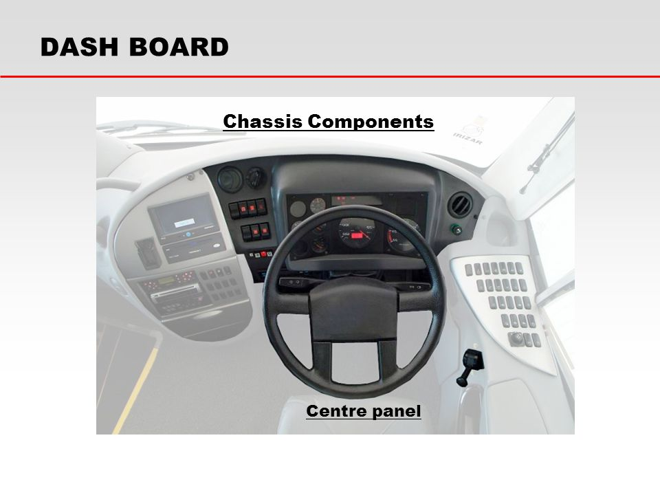 DASH BOARD Chassis Components Centre panel