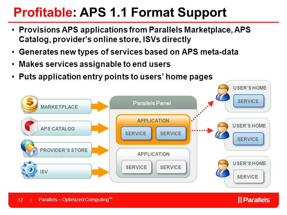 Profitable: APS 1.1 Format Support