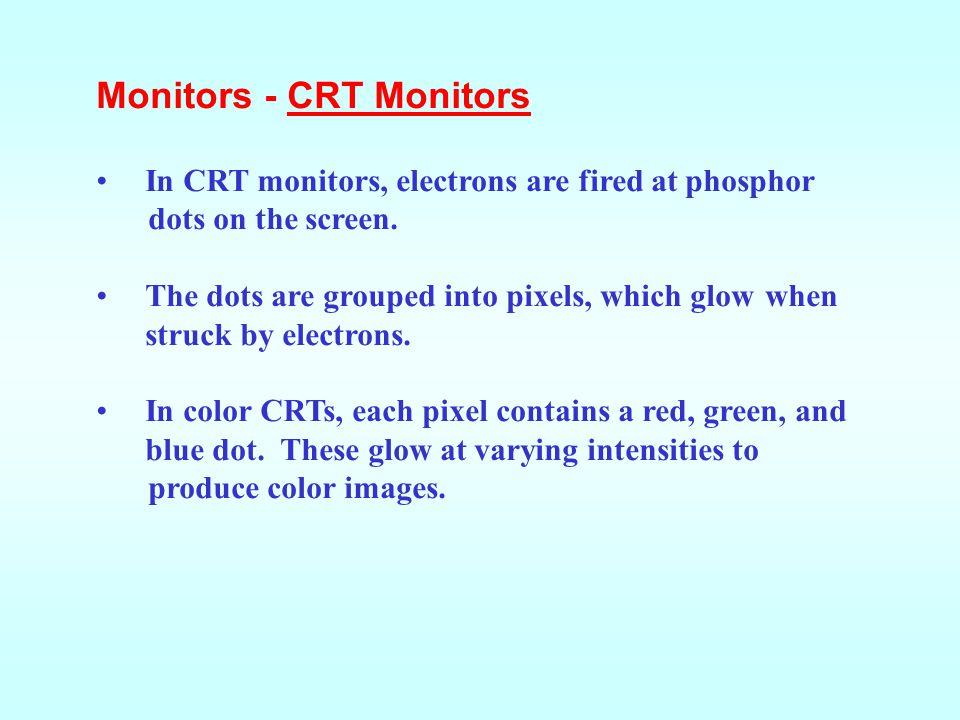 Monitors - CRT Monitors