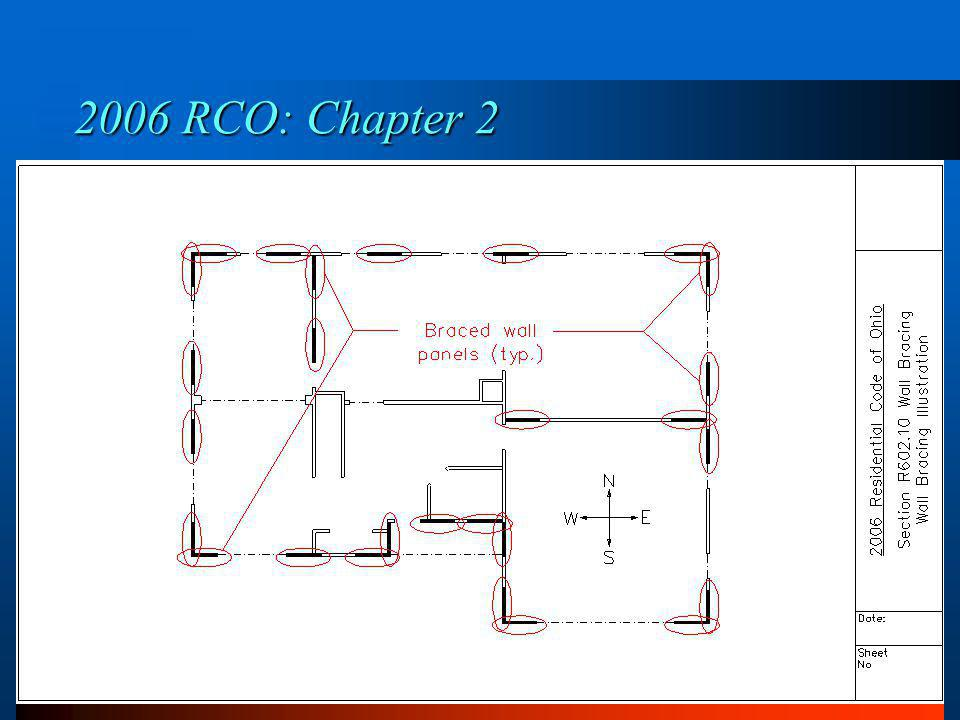 2006 RCO: Chapter 2