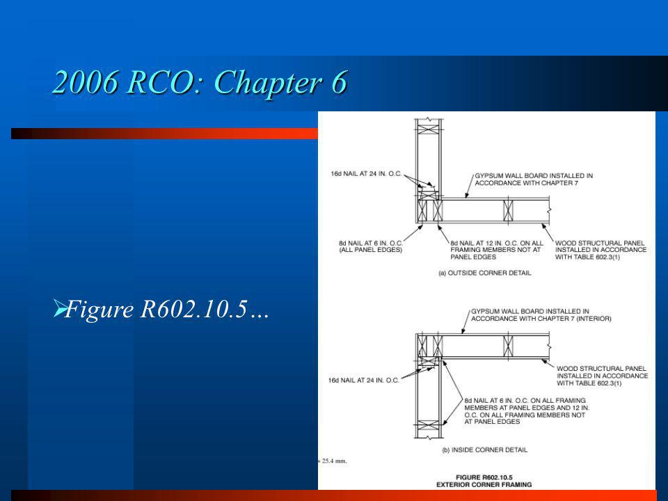 2006 RCO: Chapter 6 Figure R602.10.5…